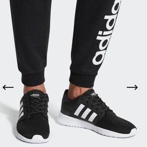 Adidas Cloudfoam QT Racer Shoes Black and White